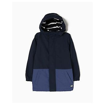 Zippy Parka Quilted Blue