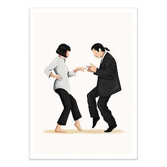 Art-Poster - Pulp Fiction - Nour Tohme