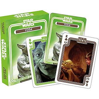 Star wars - yoda playing cards