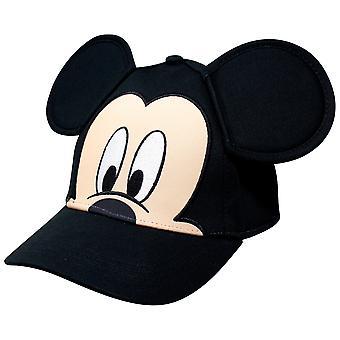 Musse Pigg ansikte och öron ungdom storlek justerbar hatt