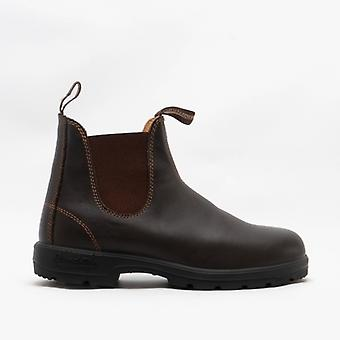 Blundstone 550 Mens Premium Leather Chelsea Boots Walnut Brown