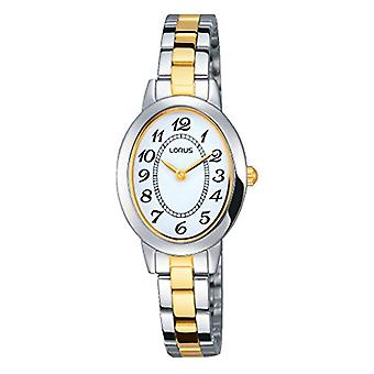 RRW69EX9-poignet classique de montres Lorus montre pour femme, bracelet acier enduite multicolore