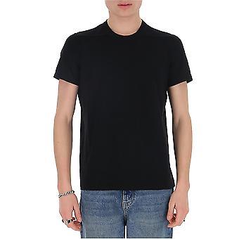Rick Owens Ru20s7265ja09 Men's Black Cotton T-shirt