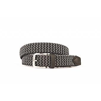 Bella cintura di tessitura in bianco e nero