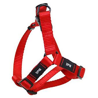 Bull Petral Red Smooth (Dogs , Collars, Leads and Harnesses , Harnesses)