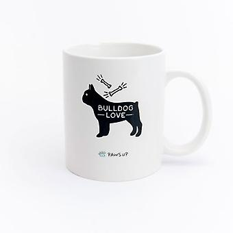 Paws Up Mug Bulldog Love (PetLovers)