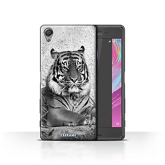 STUFF4 Case/Cover for Sony Xperia X Performance/Tiger/Mono Zoo Animals