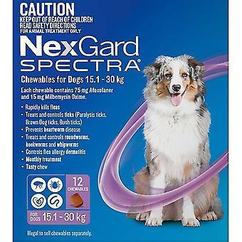 Nexgard Spectra Large 15 - 30 kg (33 - 66 lbs) - 12 pack