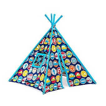 Ready Steady Bed Children&s Road Signs Print Indoor Garden Playroom Namiot zabaw Teepee Wigwam