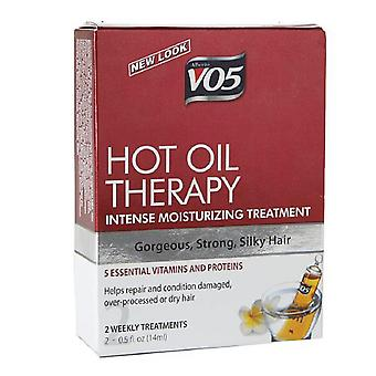 Alberto vo5 hot oil weekly intense conditioning treatment, 2 ea