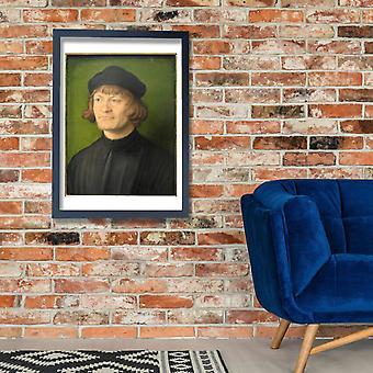 Albrecht Durer - retrato de un clérigo cartel impresión Giclee