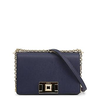 Furla Original Women All Year Crossbody Bag - Niebieski Kolor 37718