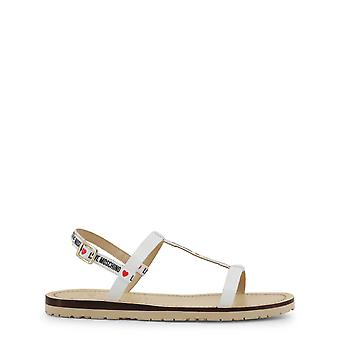 Love Moschino Original Women Spring/Summer Sandals - White Color 34561