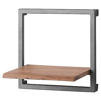 Hill Interiors Live Edge Collection Square Shelf