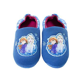 Disney Frozen 2 Anna & Elsa Nature Is Magical Girls Novelty Character Slippers
