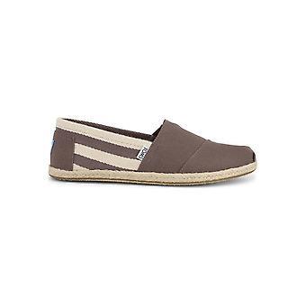 TOMS - Shoes - Slip-on - UNIVERSITY_100054-16-DKGREY - Men - rosybrown - US 9.5