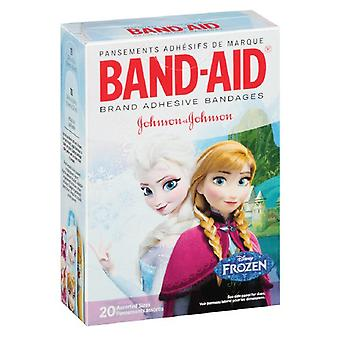 Band-aid adhesive bandages, disney's frozen, assorted sizes, 20 ea