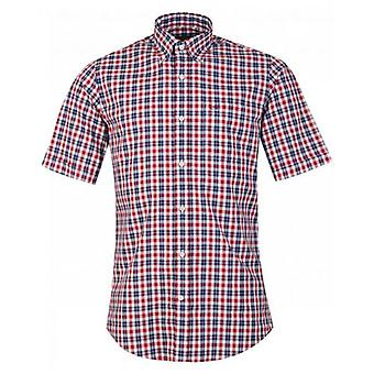 Paul And Shark 3 Couleur Grande chemise Gingham Check