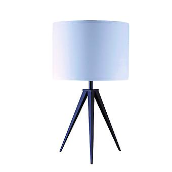 Contemporary Black Tripod Table Lamp