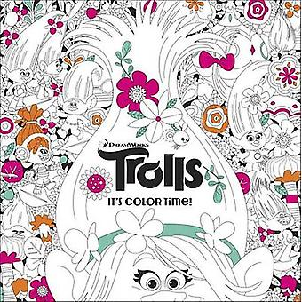 The Official Trolls Coloring Book by Random House - Jan Gerardi - 978
