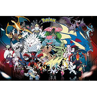 Pokemon Mega Maxi Juliste