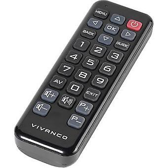 Vivanco RR Z 160 Philips Controle remoto Preto