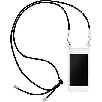 Hama Cross Body-Cover Pasek na szyję telefonu Samsung Galaxy A50, Galaxy A30 Przezroczysty