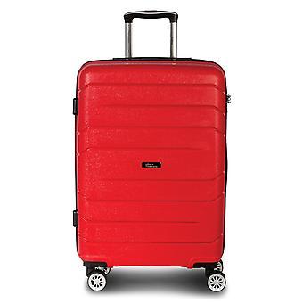 Fabrizio Alpha Trolley M, 4 rollen, 67 cm, 59 L, rood