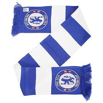 Chelsea FC Official Football Crest Bar Scarf