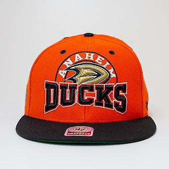 '47 Nhl Anaheim Ducks Wordmark Vintage Logo Snapback Cap