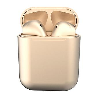 i12 Pro Wireless Headphones - Gold
