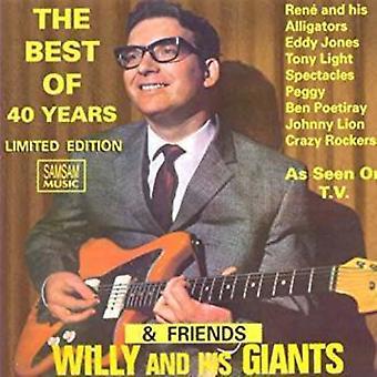 Willy & Hans Jättar & Vänner - Bäst av 40 år [CD] USA import