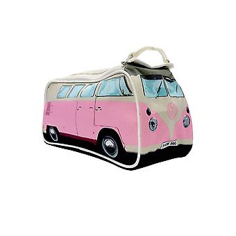 The Monster Factory VW Toiletry Bag Pink