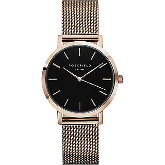 Rosefield tribeca Quartz Analog Women's Watch with TBR-T59 Gold Plated Stainless Steel Bracelet
