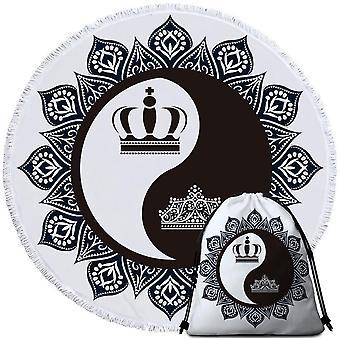 Quebec Rouched Kunstpelz werfen 125X150Cm