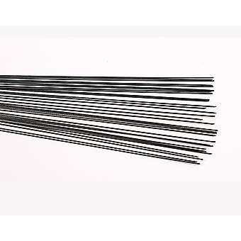 40 Annealed 0.8mm Floristry Stub Wires - 30cm Lang