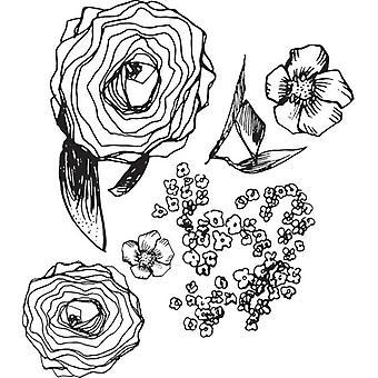 Spellbinders Jane Davenport Stamp - Build-A-Bouquet
