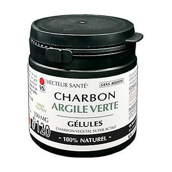 Carbo'activ charcoal clay 120 capsules