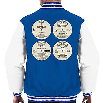 DJ International Classic Records Men's Varsity Jacket