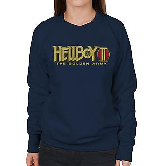 Hellboy II The Golden Army Logo Women's Sweatshirt