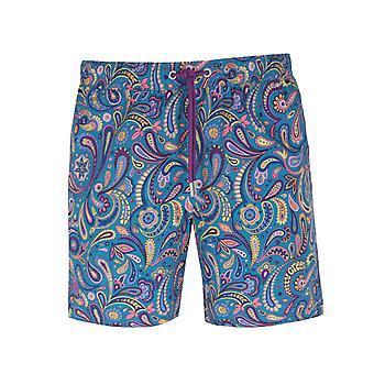 Pretty Green Festival Paisley Swim Shorts