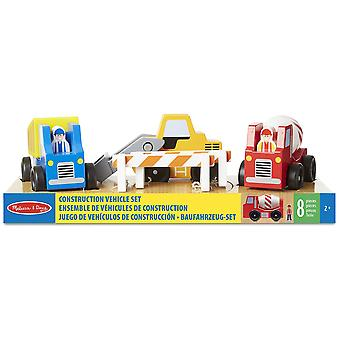 Melissa & Doug Construction Vehicles Set