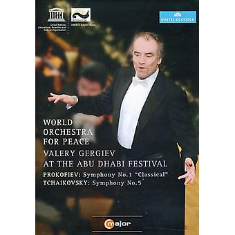 World Orchestra for Peace: Gergiev at the Abu Dhab [DVD] USA import