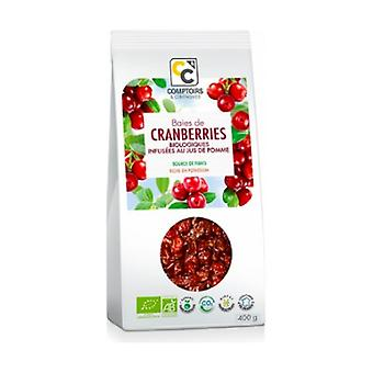 Organic cranberries infused with apple juice 400 g