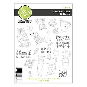 Fun Stampers Journey Let's Get Cozy Clear Stamps