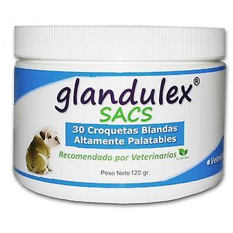 JTPharma Supplément pour Chiens et Chats Glandulex 30 Croquettes