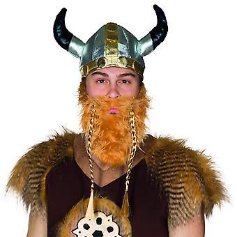 Viking hoed stof hoed Viking helm hoorns Galliër zilver