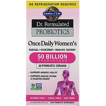 Garden of Life, Dr. Formulated Probiotics, Once Daily Women's, 30 Vegetarian Cap