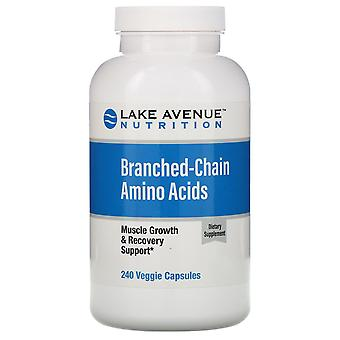 Lake Avenue Nutrition, Branched-Chain Amino Acids, 240 Veggie Capsules