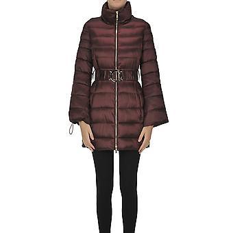 Nenette Ezgl266159 Femme's Bourgogne Nylon Down Jacket